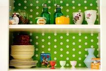 Kitchen- Green Kitchen // Zöld konyha
