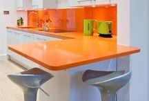 Kitchen- Orange Kitchen // Narancssárg konyha