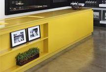 Kitchen- Yellow Kitchen // Sárga konyha