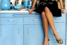 Kitchen- Blue Kitchen // Kék konyha
