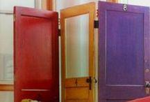Repurposing- Doors // Újrahasznosítás-Ajtók