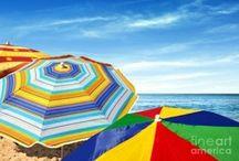 Beach, Sun & Umbrellas // Napernyők