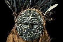 African masks / by Jasna Pleho - Studio JASNA KRASNA