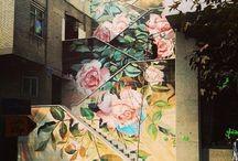 creative walls / by Jasna Pleho - Studio JASNA KRASNA
