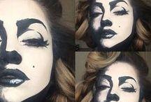 Halloween / Karneval / Make up, Costumes, Deco