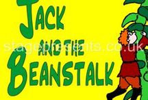 Jack & The Beanstalk Pantomime / From Stage Presence, our merchandise and inspiration for the pantomime Jack & the Beanstalk