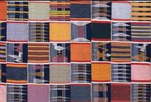 KENTE cloth (Akan, Ewe)
