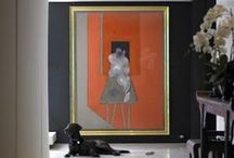 hanging around the house... / the art of display for your home...