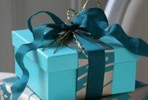 Caixa de presente / papel / ideias / Ideias para embrulhar a sua caixa de presente.