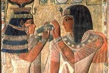 Egyptian art, artifacts and architecture