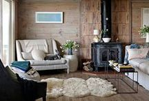Sheepish Inspiration / Ideas, Styles and design of incorporating sheepskin and natural hair on products into your home or work place.