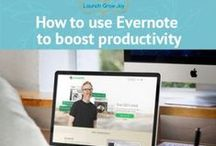 Evernote for Business / Evernote is one of my power tools. Here are articles providing ideas for using Evernote to run your business.