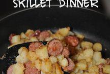 Skillet Meals / Meals made in a skillet!