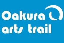 Oakura Arts Trail / Our little surf town 15km south of New Plymouth is filled with creative minds. Using different mediums our all year round self guided arts trail is a great alternative if the waves are not good..Once a year, mostly during the first two November weekends, all artists will open up their studios at the same time. For details please visit their Facebook page or website. www.oakuraarts.co.nz #art #nz #designers