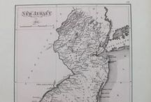Antique Maps of New Jersey