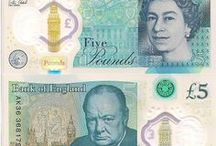 England New 5 Pound Note (Fiver) with Winston Churchill