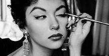 1950s Makeup & beauty / Vintage, 1950s, makeup, cosmetics, style, hair, scents, vintage ads, editorials/covers