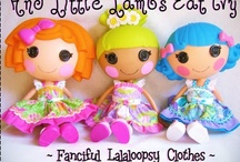 Lalaloopsy Lala-Loves / Anything about Lalaloopsy! Pin your creations and get featured in blog http://www.pinkheartstring.com/search/label/lala%20loves