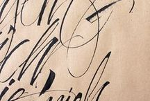 Fanciful Letters / calligraphy, hand-lettering and typographical design gems