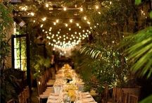 Dinner & Dancing / reception venues and details that 'make' a wedding