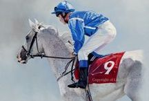 Popular Horse Racing Prints  / A selection of horse racing prints available on my website at: www.thepaintedhorse.co.uk