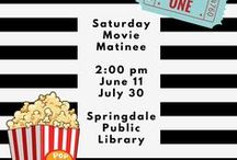 Our Library's Programs! / FREE programs offered throughout the year at our library!   / by Springdale Public Library