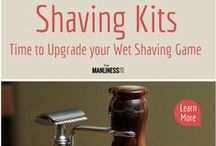 Top Shaving Sets and Kits / Shaving sets and shaving kits are the tools of wet shaving for every man. Take your wet shaving game to the next level with the best shaving kits. Your bathroom will finally look great with these awesome tools