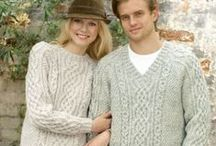 Irish Knitting & Crochet Patterns / Create your own beautiful Irish knits and crochet. Pin as many as you wish. Share and enjoy!