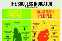 Habits of successful people / Common themes & habits among those who experience great success