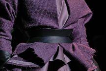 Moda...un po' di viola ...e le sue sfumature...