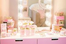Makeup and Beauty Vanity♥ / All about the beauty room, makeup vanity and all the pretty decor that goes on top!♥ XO