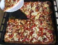 Pizza, topinky, slané koláče