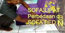 Sofa lipat inoac / SOFA LIPAT BUSA INOAC, Sofa lipat inoac standar dan sofa lipat jumbo