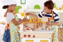 Pretend Play / Stuff that fires up the imagination and gets kids exploring the world creatively.