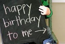 My birthday party ideas