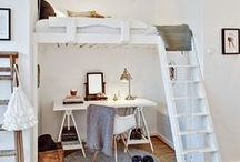 Teen Bedroom / Ideas and inspiration for tackling the design challenge of a teen bedroom.