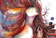 *Art and illustration:) / by miso bella