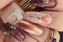 "Nail Art from NailsofAquarius.com / Original Nail Art Creations by Nails of Aquarius (aka NailArtWeekly and ""KintheQ"")"