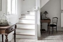 Stairs and Hallways / Great designs for stairs and hallways.