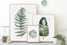 Wall Art / Collection of ideas for your wall from high end to DIY.
