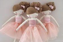 Dolls, Dolls, Dolls! / A board dedicated to gorgeous dolls for kids.