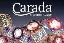 Bracelet / Shell Cameo Bracelet with precious gems. Handmade and made in Italy.
