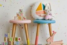 Kids Room / Fun ideas for the bedroom and playroom.