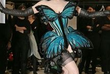 Corset design inspirations... / Outstanding and one-of-a-kind corsetry. Modern interpretations of patterns. interesting new couture ideas.