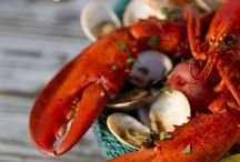Maine Lobsters YUM / Best places to visit in Maine to eat lobster, and our very favorite recipes.