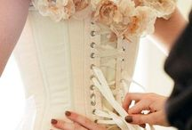 Wedding dress project... / A future corseted wedding gown