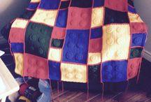 Légo / Couverture Légo au crochet