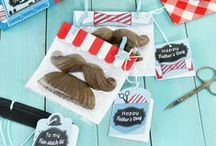 Father's Day / Craft ideas, gift ideas and other things from the kids on Father's Day