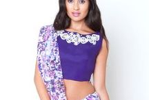 Sari's / An elegant Sari works beautifully for any occasion and here at Gina Brar our range includes contemporary asian designs for every occasion.