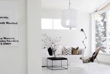 • Living room inspiration • / Livingroom inspiration
